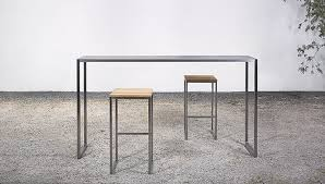stainless steel bar table contemporary high bar table stainless steel rectangular at 07
