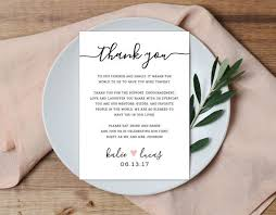 you are special today plate3d wedding invitations thank you place setting wedding thank you by alexanelsonprints