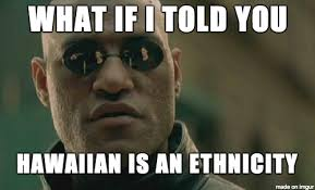 Hawaii Meme - most of the people who live in hawaii are not hawaiian meme on imgur