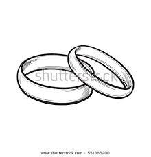 golden engagement ring big shining diamond stock vector 548527189