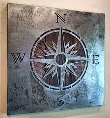 wood compass wall fresh design compass wall 36 metal for outdoors outdoor