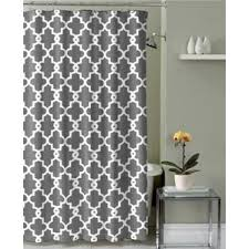 Gray And Brown Shower Curtain - geometric shower curtains you u0027ll love wayfair