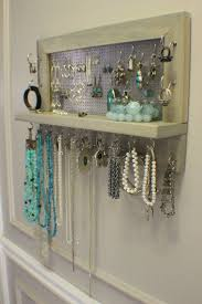 earring holder necklace images 59 wall mounted earring holder 25 best ideas about jewelry jpg