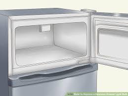 kenmore refrigerator light bulb how to replace a kenmore freezer light bulb 15 steps