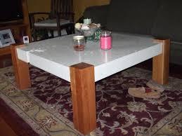 diy design coffee table coffee table concrete diy designs and wood