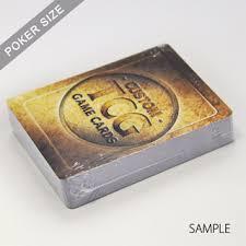 custom trading game cards