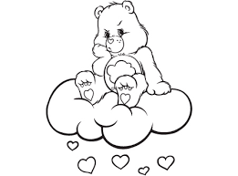 printable care bears coloring pages coloring