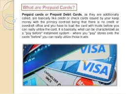 pre paid credit cards what is the need level of prepaid credit card comparison table