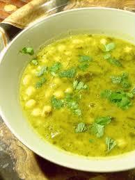 cuisine iranienne ash e anar ou soupe aux herbes pois chiche et grenade