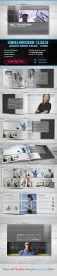 12 page brochure template simple landscape brochure indesign template 12 page by devinepixels
