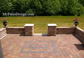 Patio Retaining Wall Ideas Outdoor Patio Designs Custom Patio Wall Design Home Design Ideas