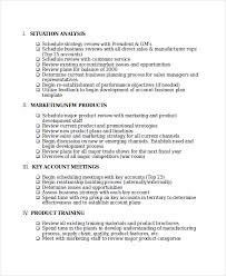 sales rep business plan template word action plan template 7 free