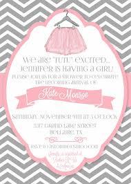 tutu invitations for baby shower lilbibby com