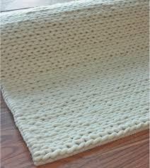 Handmade Wool Rug White Wool Rugs Rugs Ideas