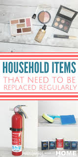 13 household items that need to be replaced regularly
