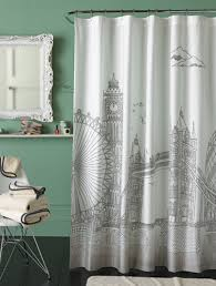 bathroom elegant mid century modern shower curtain 2 property mid