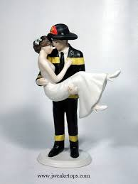 fireman wedding cake toppers 10 best fighter wedding cake toppers images on