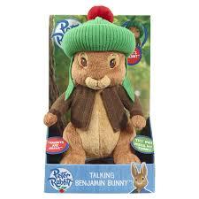 rabbit and benjamin bunny rabbit s benjamin bunny large talking plush