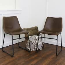 Brown Leather Chairs For Dining Dining Chair