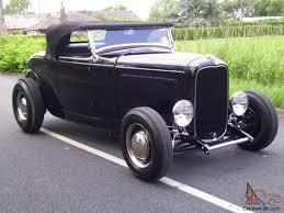 1932 ford model b roadster hotrod custom all steel v8