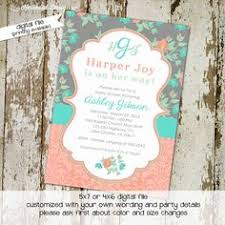 rustic shabby chic baby shower invitations diy printable baby
