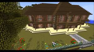 Minecraft Ranch House Amazing Savanna Biome Youtube