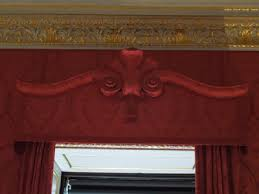 Fabric Covered Wood Valance Architect Design Inside Kensington Palace