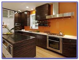 kitchen color to match dark cabinets painting home design