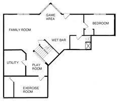finished basement floor plans finished basement floor plans