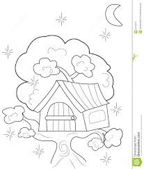tree house coloring pages house coloring page house coloring page