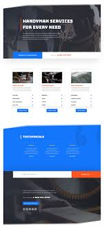 get layout from view get a free professional handyman layout pack for divi elegant