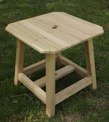Patio Umbrella Stand Side Table Umbrella Stand Side Table Plans Side Tables Design
