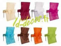 housse chaise jetable idées de decoration table en argent fushia et blanc sur id decos fr