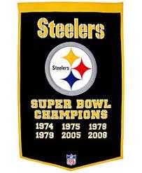 Steelers Bathroom Set Pittsburgh Steelers Sports Apparel U0026 Gear For Men Macy U0027s