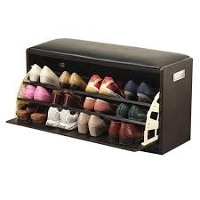 s01 ottoman with shoe cabinet large black suchprice malaysia