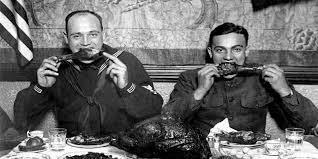 why do americans celebrate thanksgiving speeli summary