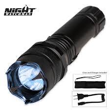 night watchman 2 million volt police stun gun flashlight budk