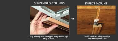 Drop Ceiling Grid by Woodtrac Ceiling System U2013 Custom Drop Ceiling System Wood Ceiling