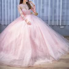 quinceanera dresses pink pink transparent top prom quinceanera dresses sleeves lace