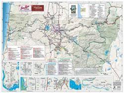 map of oregon eugene eugene maps walking tour map eugene cascades oregon coast