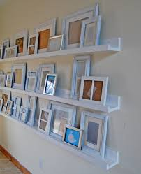 Wood Shelf Gallery Rail by Ana White Ten Dollar Ledges Diy Projects