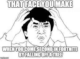 Meme Phone Falling On Face - jackie chan wtf memes imgflip