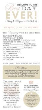 cool wedding programs wedding planning timeline what every needs to stay on track