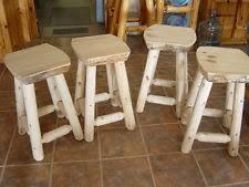 cedar bar stools ebay