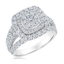 cushion halo engagement rings reeds jewelers exclusive multi cushion halo