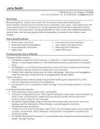 Singer Resume Example by Musicians Resume Free Resume Example And Writing Download