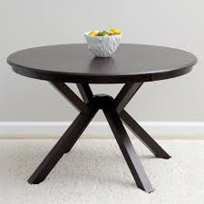 context dark brown wooden top dining table by i love living