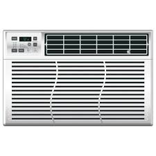 Small Air Conditioner For A Bedroom Ge 8 000 Btu Energy Star 115 Volt Electronic Through The Window