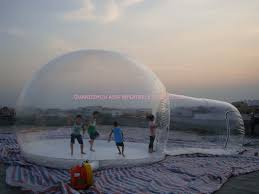 clear inflatable snow ball bubble tent for sale