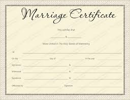 pink delight marriage certificate design marriage certificate